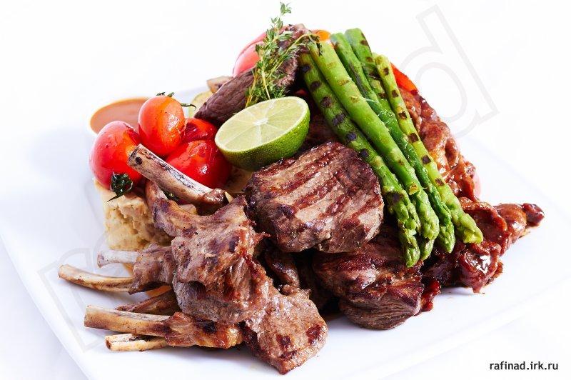 Блюда из свиной шейки в духовке рецепт